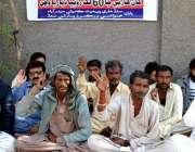 حیدر آباد: سندھ ہاری مزدور کمیٹی اور عوامی ورکزر پارٹی کی طرف سے ٹنڈو ..