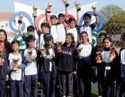 راولپنڈی: فروبلس انٹر نیشنل سکول سوہاں کیمپس سپورٹس گالہ کے موقع پر ..