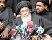 راولپنڈی: چہلم امام حسین(رض) کے موقع پر قائد ملت جعفریہ سید حامد علی ..