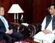 اسلام آباد: سپیکر قومی اسمبلی سردار ایاز صادق سے جاپان کے سفیر تکاشی ..