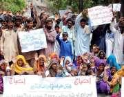 حیدر آباد: شیخ بھرکیو کے رہائشی پولیس کے خلاف انصاف کے لیے احتجاجی مظاہرہ ..
