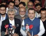 لاہور: صوبائی وزراء میاں اسلم اور مراد راس انجینئرنگ مشینری اینڈ ٹریڈ ..