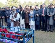 لاہور: گورنر پنجاب چوہدر محمد سرور، صوبائی وزراء میاں محمود الرشید، ..