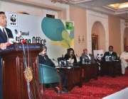اسلام آباد: مشیر وزیر اعظم برائے موسمیاتی تبدیلی ملک امین اسلم ڈبلیو ..