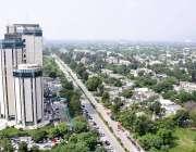 اسلام آباد: وفاقی دارالحکومت کا خوبصورت منظر۔
