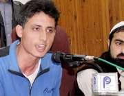 پشاور: حفیظ انسٹی ٹیوٹ آف میڈیکل سائنس کے سٹوڈنٹس اظہر پریس کانفرنس ..