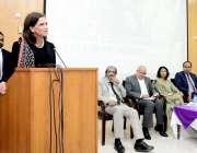 لاہور: جی سی یونیورسٹی میں پنجاب کمیشن برائے حقوق و خواتین کی جانب سے ..