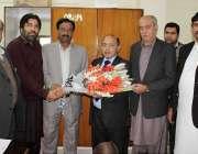 اسلام آباد: آئی سی سی آئی کے نائب صدر نثار مرزا وفد کے ہمراہ ڈائریکٹریٹ ..