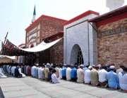 اسلام آباد: وفاقی دارالحکومت میں روزہ دار ماہ رمضان کے چوتھے جمعةالمبارک ..