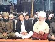 اسلام آباد : آستانہ عا لیہ گولڑہ شریف میں منعقدہ عالمی تاجدار ختم نبوت ..