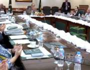 لاہور: نگران وزیر اعلیٰ پنجاب ڈاکٹر حسن عسکری کی زیر صدارت صوبائی کابینہ ..