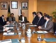 اسلام آباد: وفاقی وزیربرائے انفارمیشن ٹیکنالوجی اینڈ ٹیلی کمیونیکیشن ..