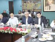 لاہور: لاہور چیمبر آف کامرس میں اجلاس کے موقع پر ایرانی قونصل جنرل رضا ..