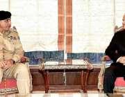 اسلام آباد: نگران وزیراعظم جسٹس (ر) ناصرالملک اور آرمی چیف جنرل قمر ..