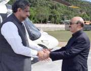 مظفر آباد: وزیراعظم شاہد خاقان عباسی کا نیلم جہلم پراجیکٹ کے افتتاح ..