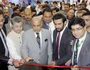 اسلام آباد: گورنر پنجاب ملک محمد رفیق رجوانہ انٹرنیشنل ایکسپو2018کا ..