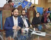 لاہور: پاک ترک سکولز کے طلبہ کے والدین کی ایسوسی ایشن کے صدر وہاب دین ..