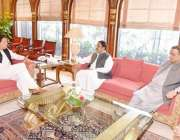 اسلام آباد: وزیراعظم عمران خان سے وزیراعظم پنجاب عثمان بزدار ملاقات ..