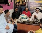 کراچی: کراچی تاجر الائنس کے چیئرمین و بانی عام آدمی پاکستان ایاز میمن ..