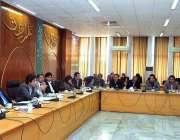 اسلام آباد:وفاقی وزیر منصوبہ بندی ، ترقی و اصلاحات مخدوم خسرو بختیار12ویں ..