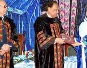 کوئٹہ: صدر مملکت ممون حسین سردار بہادر خان وویمن یونیورسٹی کے39ویں کانووکیشن ..