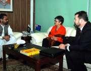 اسلام آباد: وزیر مملکت نعیم زمیندار ، پاکستان کے لیے اسسٹنٹ سیکرٹری ..