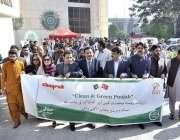راولپنڈی: راولپنڈی آرٹس کونسل کے زیر اہتمام (صاف اور سر سبز پنجاب) مہم ..
