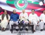 لاہور: تحریک انصاف کے سینیٹر چوہدری محمد سرور (ق) لیگ کی جانب سے حمایت ..