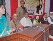 لاہور: سول آرگنائزیشن کے زیر اہتمام انمول گوہر کی کتاب کی تقریب ، تقریب ..