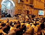 راولپنڈی: قدیمی امام بارگاہ میں عزادار محرم الحرام کے حوالے سے مجلس ..