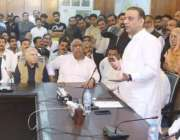 لاہور: سینئر وزیر پنجاب عبدالعلیم خان گوجوانوالہ کے عمائدین سے خطاب ..