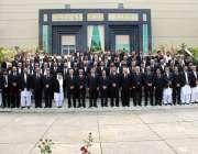 پشاور: چیف جسٹس آف پاکستان جسٹس ثاقب نثار کا دیگر ججز اور بار کونسل ..