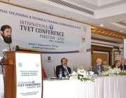 اسلام آباد: وزیر مملکت انجینئر بلیغ الرحمن انٹر نیشنل ٹی وی ای ٹی کانفرنس ..