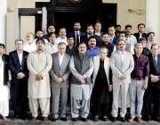 لاہور: وزیراعلیٰ پنجاب سردار عثمان بزدار کے ہمراہ کونسل آف پاکستان ..