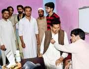 ر اولپنڈی: یو سی78ڈھوک منشی خان چکلالہ کے زیر ااہتمام فری میڈیکل کیمپ ..