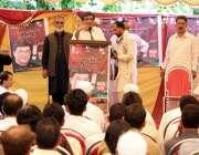 ایبٹ آباد: پی ٹی کے امیدوار برائے حلقہ این اے15علی اصغر عوای اجتماع سے ..