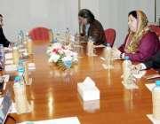 لاہور: صوبائی وزیر صحت ڈاکٹر یاسمین راشد یو ایس ایڈ کے وفد سے ملاقات ..