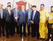 ٹورنٹو: صدر آزاد کشمیر سرداسر مسعود خان کا کشمیر ویلفیئر سوسائٹی اور ..