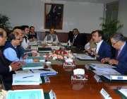 اسلام آباد: وفاقی وزیر برائے بجلی اویس لغاری پاور پراجیکٹس بارے117ویں ..