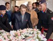 اسلام آباد: وزیر اعظم آزاد کشمیر راجہ محمد فاروق حیدر خان رئیس الاحرار ..