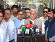 فیصل آباد: وفاقی وزیر برائے ٹیکسٹائل اینڈ کامرس حاجی محمد اکرم انصاری ..