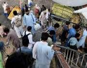 راولپنڈی: اپنے پیاروں کے ساتھ عدی منانے کے بعد واپس جڑواں شہر آنیوالے ..