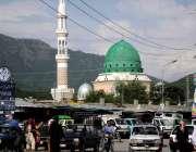 اسلام آباد: وفاقی دارالحکومت میں بری امام کے علاقے سے مارگلہ کی پہاڑیوں ..