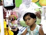 سرگودھا: تھیلیسیمیا کے عالمی دن کے موقع پر ڈی ایچ کی ہسپتال میں تھیلیسیما ..