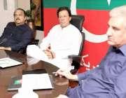 اسلام آباد: وزیراعظم عمران خان صدارتی انتخابات کے حوالے سے حکمت عملی ..