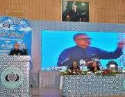 ملتان: صدر مملکت ڈاکٹر عارف علوی بہاؤالدین زکریا یونیورسٹی میں منعقدہ ..