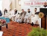 کراچی:نیکٹا کے قومی کوآرڈینیٹر احسان غنی کے جامعہ بنوریہ عالمیہ کے ..