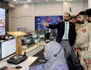 لاہور: چیف ایڈمنٹسریشن آفیسر محمد کامران خان ملٹری پولیس سکول ڈیرہ ..