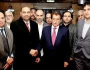 لندن: وزیر اعظم آزاد کشمیر راجا فاروق حیدر خان کے اعزام میں برطانیہ ..