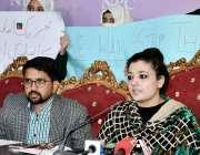 اسلام آباد: پاک ترک سکول کے والدین عدالتی فیصلے کے حوالے سے پریس کانفرنس ..